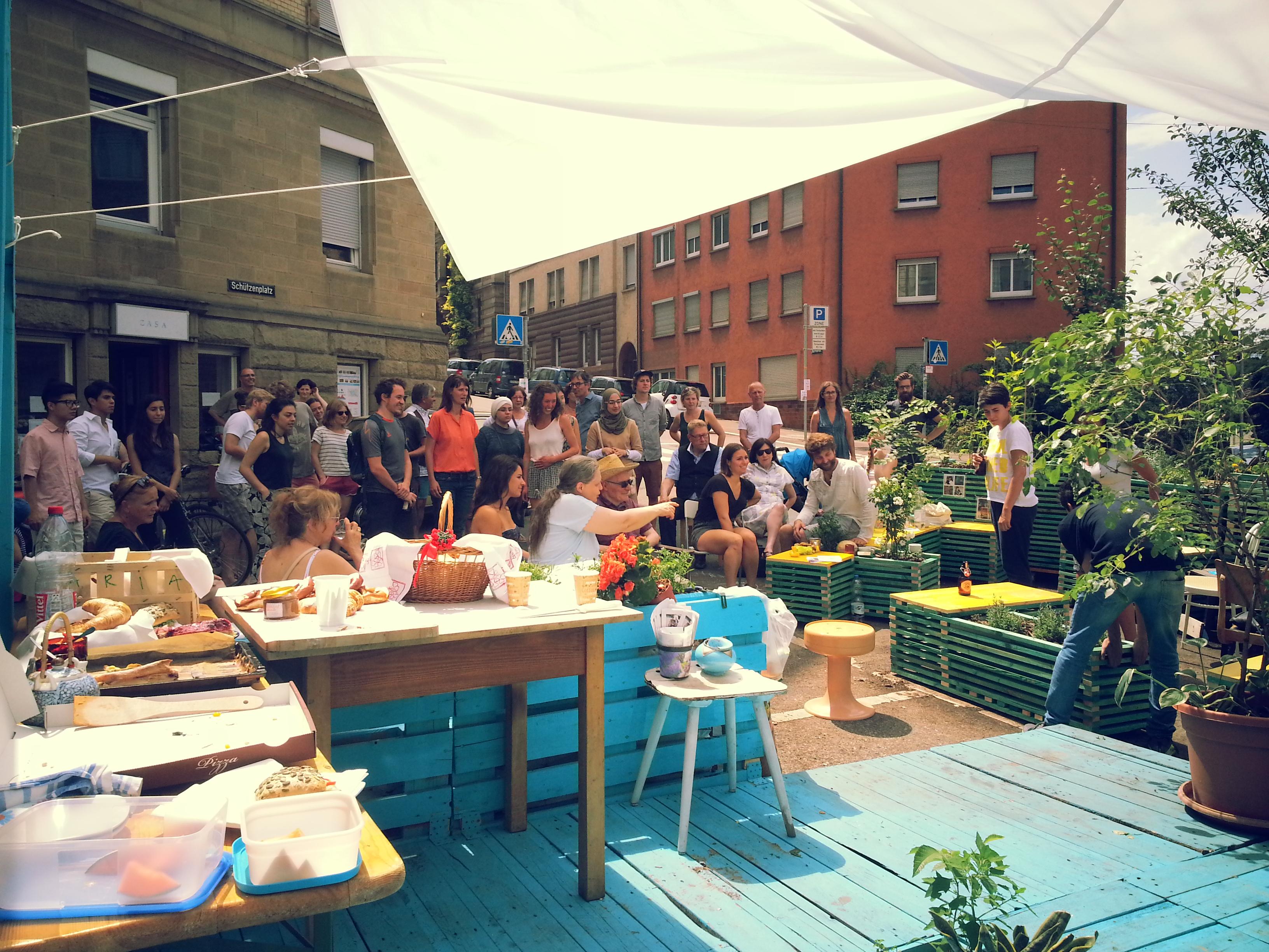 Gemeinsame Ein Urbaner Garten in der Stadt – Casa, Schützenplatz und &ZU_73